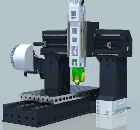 HLVC4020F5五轴龙门加工中心